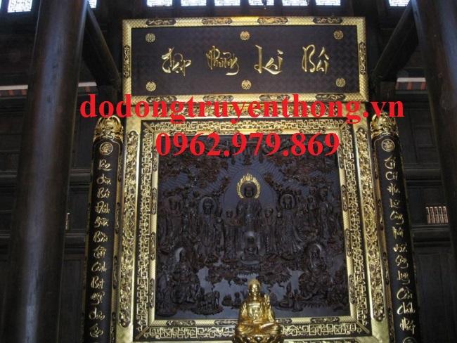 Cửa võng án gian treo phòng thờ phật-dodongtruyenthong