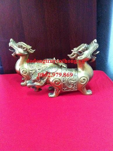Địa chỉ bán tượng tỳ hưu đồng hai đầu-dodongtruyenthong.vn