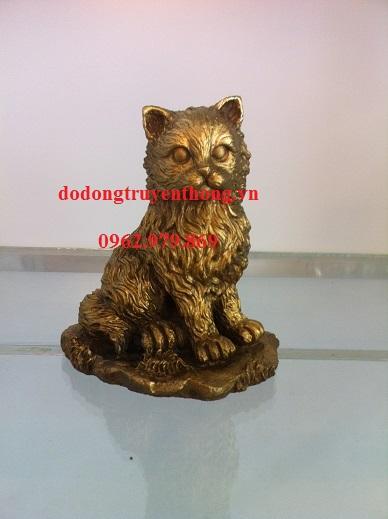 Phong thủy cho người tuổi mèo,tượng mèo bằng đồng
