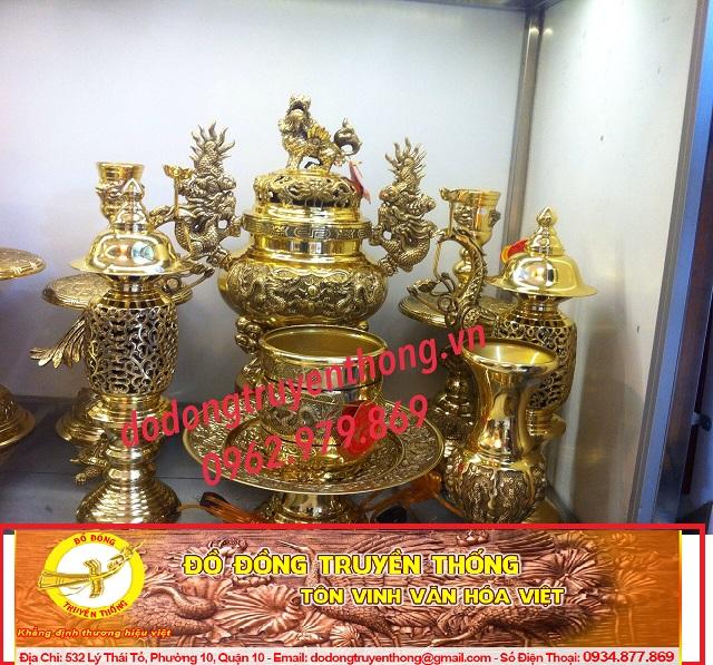 Lư dapha 48cm-đồ thờ đồng đại phát