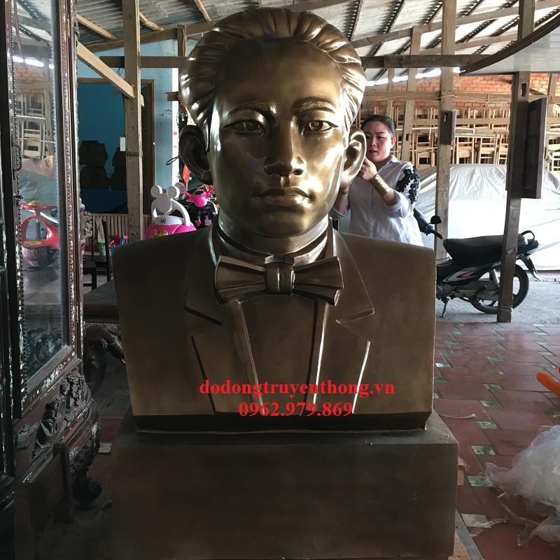 Đúc tượng đồng Châu Văn Liêm 1,2M tại Vĩnh Long