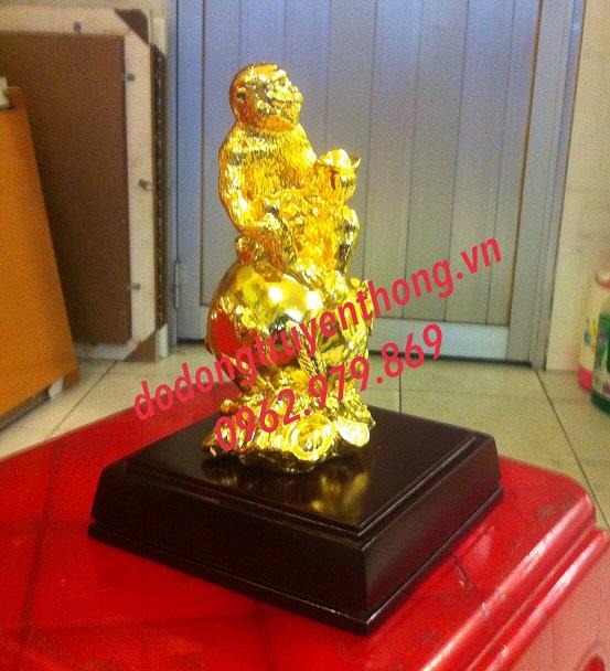 Quà tặng khỉ mạ vàng cho tết 2016