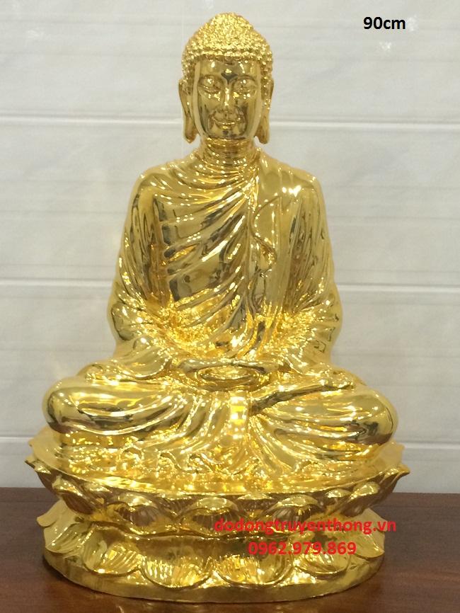 Nơi Mạ vàng 24 tượng phật thích ca cao 90 cm Chất lượng uy tín