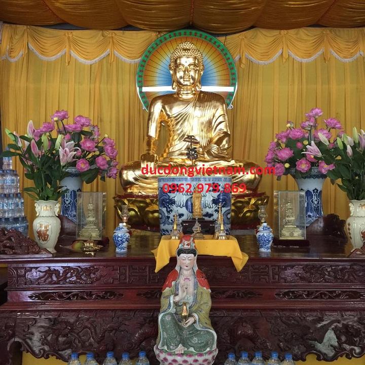 Địa chỉ mạ vàng 24 k tượng phật bổn sư uy tín